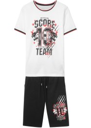 T-Shirt + Hose (2-tlg. Sportset), bpc bonprix collection