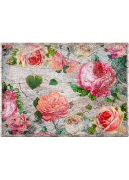 Tapis de protection motif roses, bpc living bonprix collection
