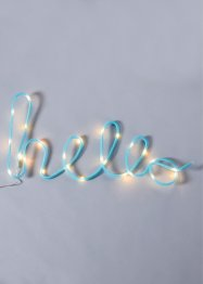 Inscription LED HELLO, bpc living