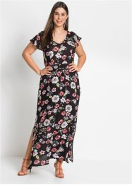 Robe maxi longue imprimée à volants : MUST-HAVE, BODYFLIRT