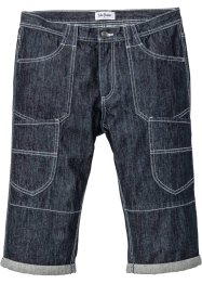 Bermuda long en jean Regular Fit Straight, John Baner JEANSWEAR