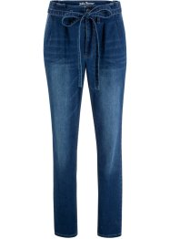 Soft-Stretch-Jeans mit Bindeband, John Baner JEANSWEAR