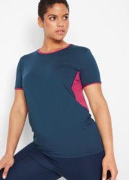 Sport-Shirt mit Mesh, kurzarm, bpc bonprix collection