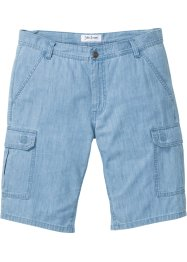 Bermuda en jean en denim estival Regular Fit, John Baner JEANSWEAR