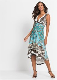 Midikleid mit Leoprint, BODYFLIRT boutique