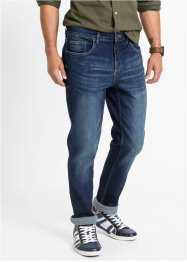 Slim Fit Power-Stretch-Jeans mit Komfortschnitt, Straight, bpc bonprix collection