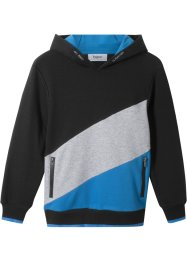Jungen Kapuzensweatshirt im Colourblock, bpc bonprix collection