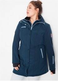 Stretch-Softshelljacke, 2 in 1-Optik, bpc bonprix collection