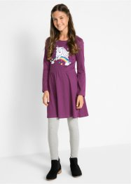 Mädchen Jerseykleid langarm, bpc bonprix collection