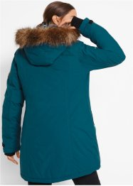 Funktions-Outdoor-Longjacke mit Kapuze, bpc bonprix collection