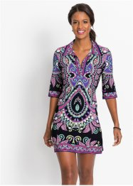 Shirtkleid mit Druck, BODYFLIRT boutique