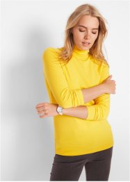 Rollkragen-Stretch-Shirt, Langarm, bpc bonprix collection