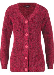 Strickjacke in Melangeoptik, bpc bonprix collection