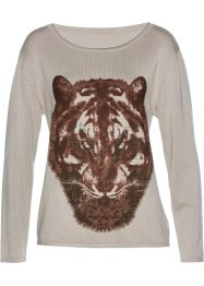 Pullover mit Animal-Druck, bpc selection