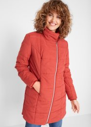 Long-Steppjacke mit weitem Kragen, bpc bonprix collection