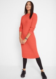 Robe midi en maille, longueur mollet, bpc bonprix collection