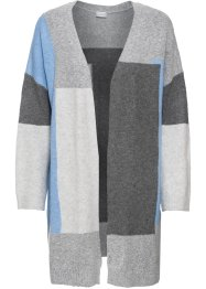 Longstrickjacke im Colorblocking-Design, BODYFLIRT
