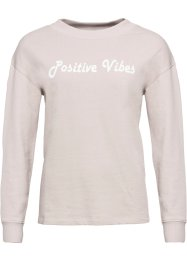 "Sweat-shirt ""Positive Vibes"", RAINBOW"