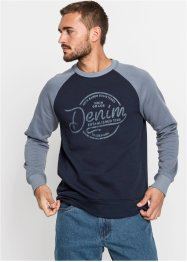 Sweat-shirt manches raglan, John Baner JEANSWEAR