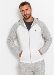 Gilet sweat-shirt à manches raglan, bpc bonprix collection