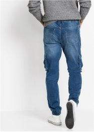 Slim Fit Thermo-Superstretch-Schlupf-Jeans, Straight, RAINBOW