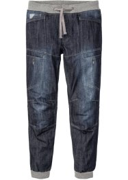 Jeans mit Rippbündchen Regular Fit Straight, RAINBOW