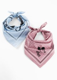 Lot de 2 foulards Mickey Mouse