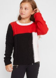 Strickpullover mit Zopfmuster, bpc bonprix collection