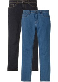 Lot de 2 jeans extensibles Regular Fit Straight, John Baner JEANSWEAR