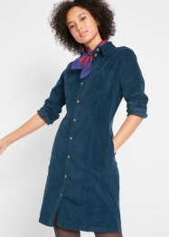 Cord-Stretch-Kleid, John Baner JEANSWEAR