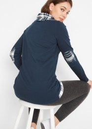 Sweatshirt in 2-in-1 Optik, bpc bonprix collection