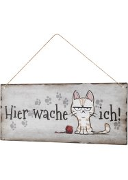 Türschild mit Katze, bpc living bonprix collection
