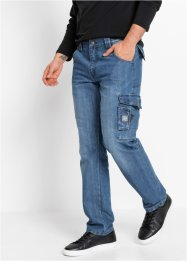 Jean cargo en denim robuste, bpc bonprix collection