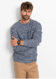 Pullover melierte Rippe, bpc bonprix collection