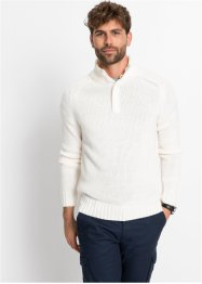 Pullover mit Knopfblende, bpc bonprix collection