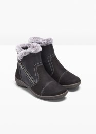 Bottines d'hiver confortables en cuir, bpc selection