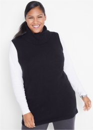 Pull sans manches en maille, bpc bonprix collection