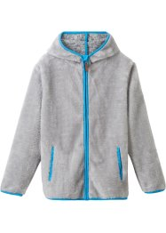 Teddy-Fleece Jacke mit Ohren, bpc bonprix collection