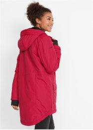 Funktions-Outdoorparka mit Fellimitat, bpc bonprix collection