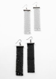 Boucles d'oreilles (4 pces.), bpc bonprix collection