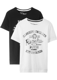 Lot de 2 T-shirts garçon, bpc bonprix collection