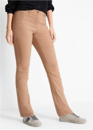 Pantalon amincissant en bengaline avec pinces modelantes, bpc bonprix collection