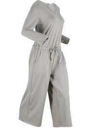 Jumpsuit mit weitem Bein, 3/4-Arm, bpc bonprix collection