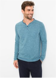 T-shirt henley, manches longues, bpc bonprix collection