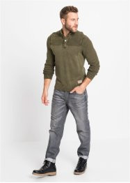 Pull à col montant, John Baner JEANSWEAR