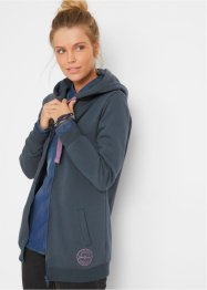 Gilet sweat long, John Baner JEANSWEAR