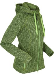 Strickfleece-Langjacke, langarm, bpc bonprix collection