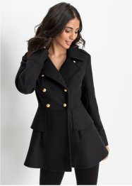 Manteau court militaire, BODYFLIRT boutique