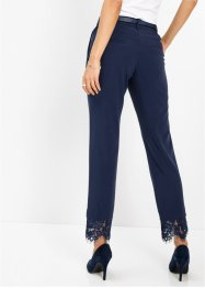 Pantalon extensible à bordure dentelle, bpc selection premium