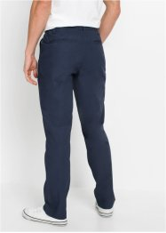 Regular Fit Chinohose mit Bindeband, Straight, bpc bonprix collection